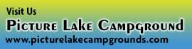 logo for Picture Lake Campground