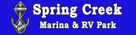 logo for Spring Creek Marina & RV Park