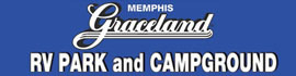 logo for Memphis Graceland RV Park & Campground