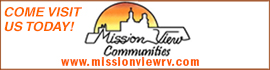 logo for Mission View RV Resort