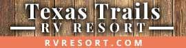 logo for Texas Trails RV Resort