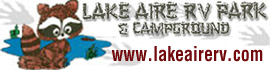 logo for Lake Aire RV Park & Campground