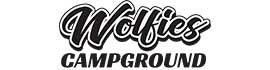 logo for Wolfies Campground