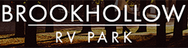logo for Brookhollow RV Park