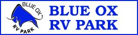logo for The Blue Ox RV Park