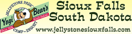 logo for Sioux Falls Yogi Bear