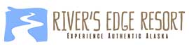 logo for River's Edge RV Park & Campground