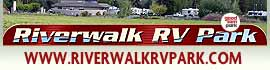 logo for Riverwalk RV Park & Campground