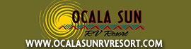 logo for Ocala Sun RV Resort