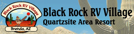 logo for Black Rock RV Village