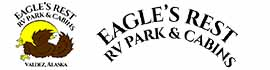 logo for Eagle's Rest RV Park & Cabins