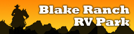 logo for Blake Ranch RV Park