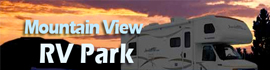 logo for Mountain View RV Park