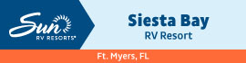 logo for Siesta Bay RV Resort