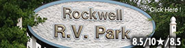 logo for Rockwell RV Park