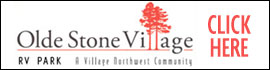 logo for Olde Stone Village RV Park
