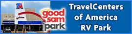logo for TravelCenters of America RV Park