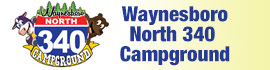 logo for Waynesboro North 340 Campground