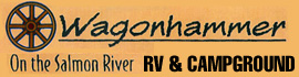 logo for Wagonhammer RV Park & Campground