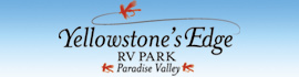 logo for Yellowstone's Edge RV Park