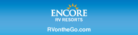 logo for Pioneer Village RV Resort