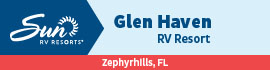 logo for Glen Haven RV Resort
