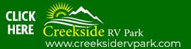 logo for Creekside RV Park