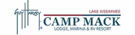 logo for Camp Mack, A Guy Harvey Lodge, Marina & RV Resort