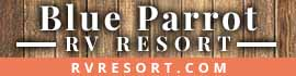 logo for Blue Parrot RV Resort