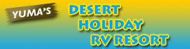 logo for Desert Holiday RV Resort