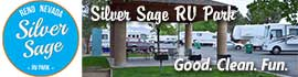 logo for Silver Sage RV Park