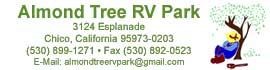 logo for Almond Tree RV Park