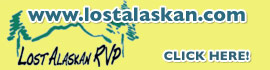 logo for Lost Alaskan RV Park