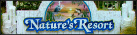 logo for Nature's Resort