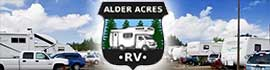logo for Alder Acres RV Park