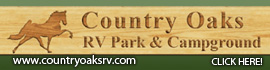 logo for Country Oaks RV Park & Campground