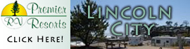 logo for Premier RV Resorts - Lincoln City