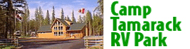 logo for Camp Tamarack RV Park