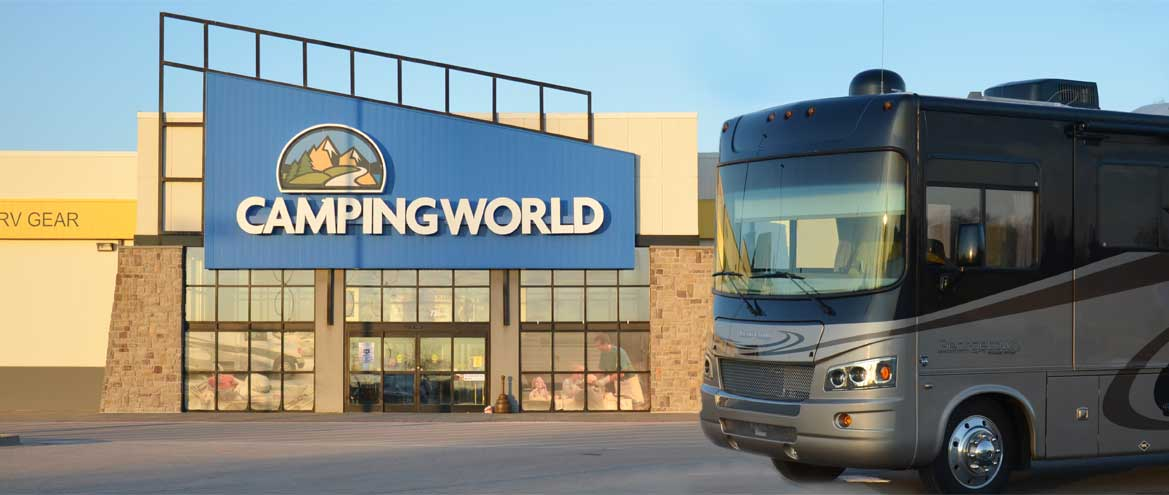 Front of Camping World Supercenter Bowling Green, KY