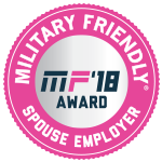 Military Spouse Friendly Employer 2018 Logo