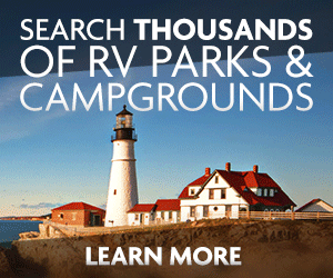 Search Thousands of RV Parks and Campgrounds - Learn More