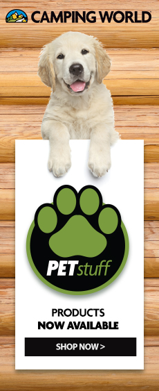 Shop Pet Stuff at Camping World