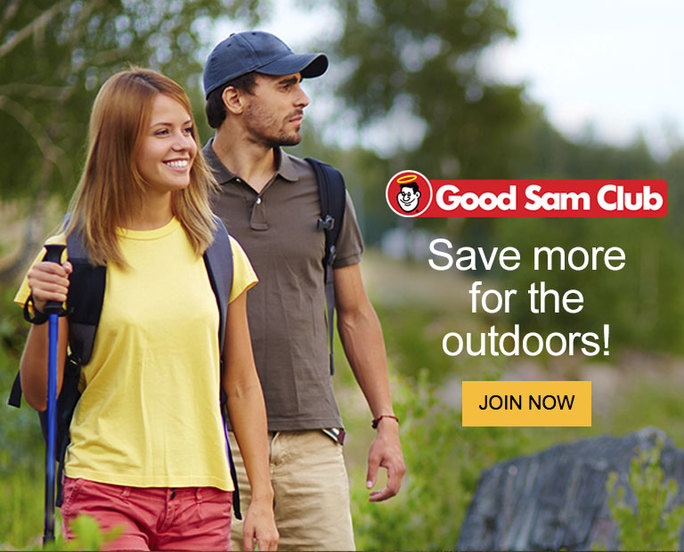 why join good sam club? save more for outdoors