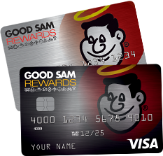 Good Sam Rewards Visa Credit Card and Good Sam Rewards Credit Card