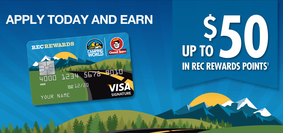 Good Sam | Camping World Credit Card