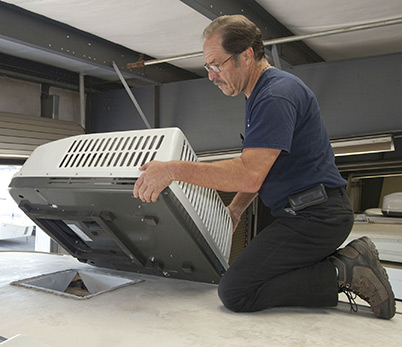 RV air conditioning maintenance