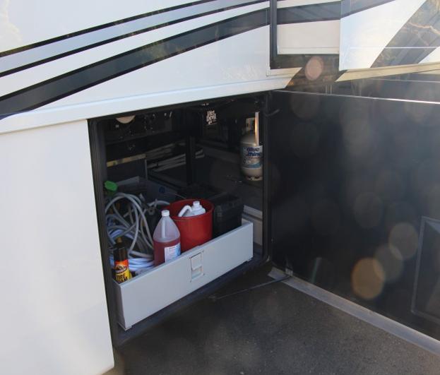 RV Storage Tips: Motorhome Basement