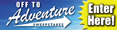 Off To Adventure Sweepstakes