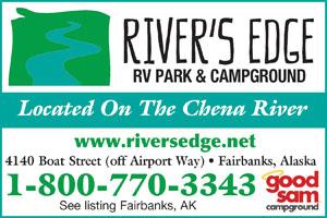 fairbanks Alaska RV Parks - fairbanks Campgrounds - RV
