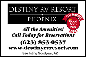 Rv Parks In Surprise Arizona Surprise Arizona Campgrounds